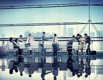 Business People Corporate Meeting Partne