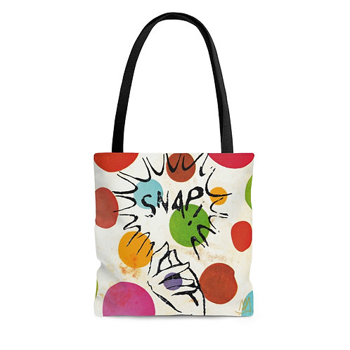 Oh SNAP! Vintage Look Tote Bag
