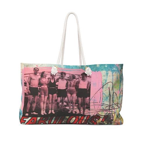 Pretty in pink!- Beach/Weekender Bag