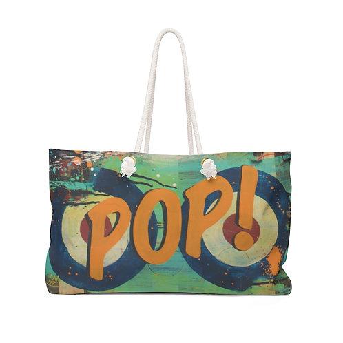 Orange POP!-Beach/Weekender Bag