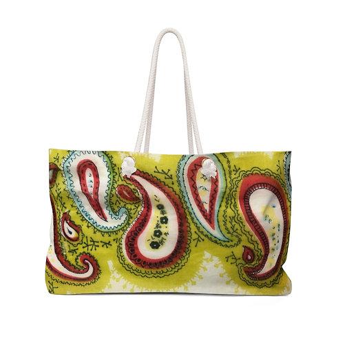 Paisley Summer!-Weekender Bag