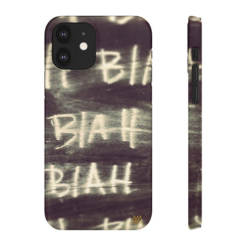 BLAH BLAH BLAH!-Snap Cases