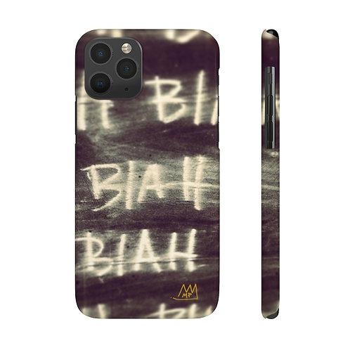 BLAH BLAH BLAH!-Case Mate Slim Phone Cases