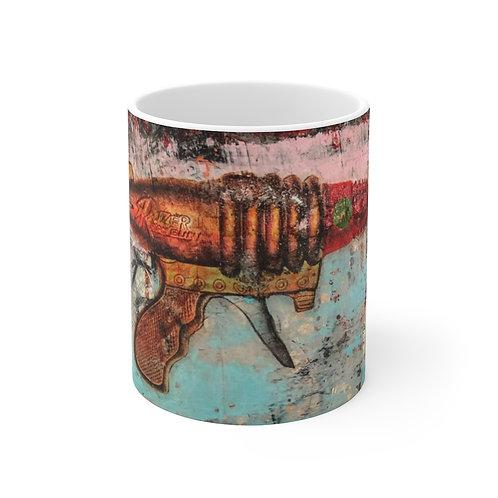 Toy-White Ceramic Mug