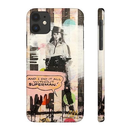 Hear me roar!--Case Mate Slim Phone Cases
