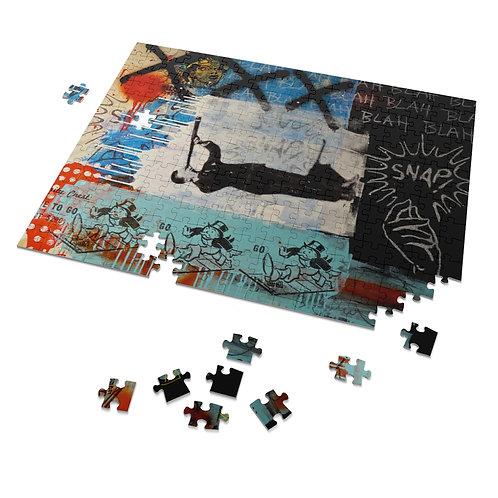 The traveler!-252 Piece Puzzle