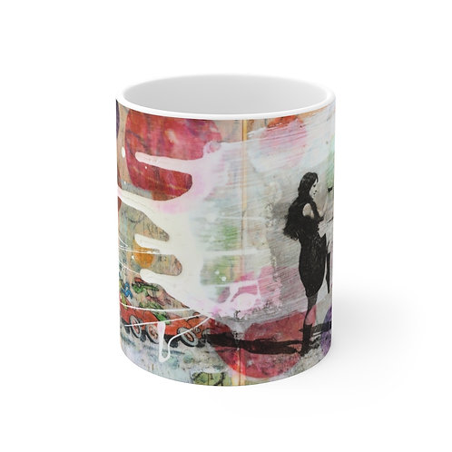 Vacation!-White Ceramic Mug