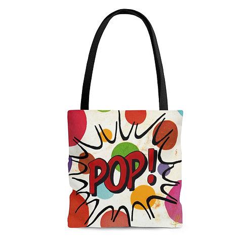 POP!-Vintage look Tote Bag