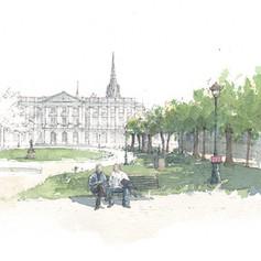 Jardins de la mairie