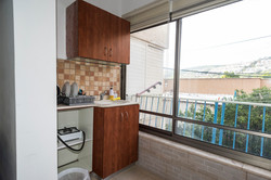 private kitchen - 3 beds room