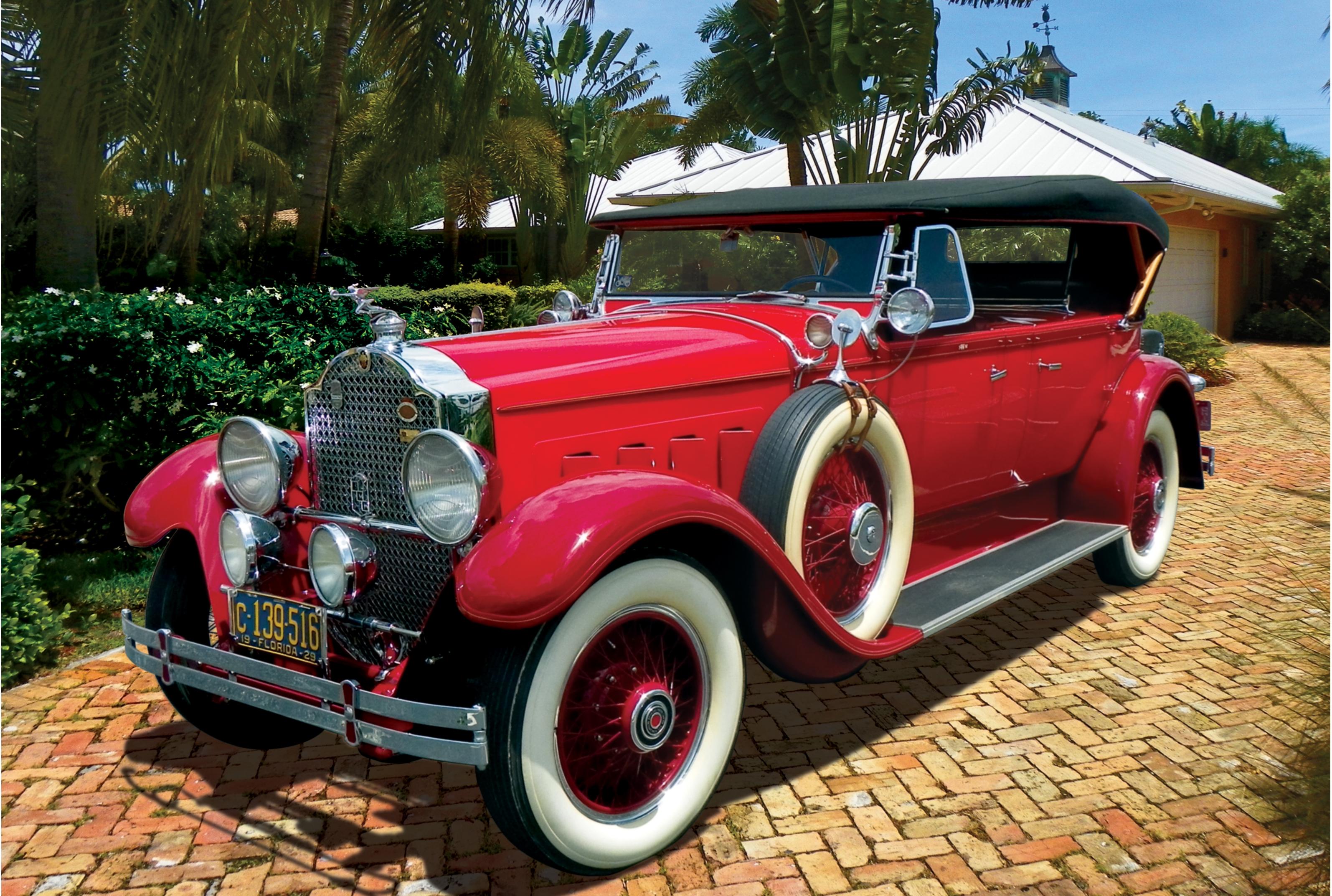 1929 Dual Cowl Phaeton