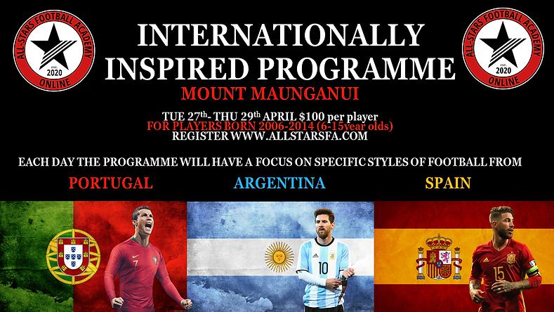 INTERNATIONALLY INSPIRED PROGRAMME FINAL