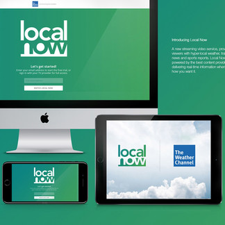 local now   |   branding for a weather channel product
