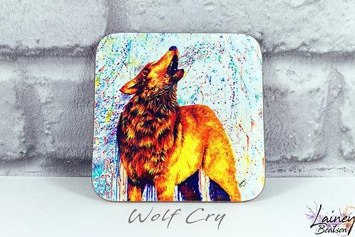Wolf Cry Coaster