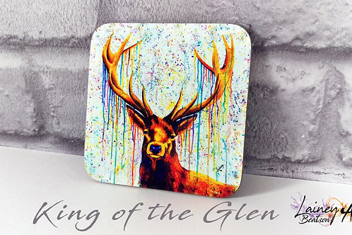 King of the Glen Coaster