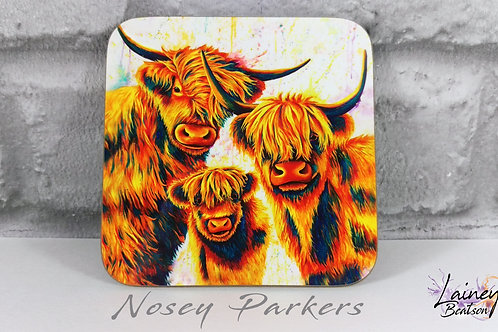 Nosey Parkers Coaster