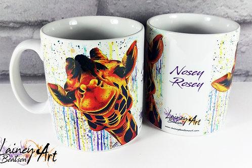 Nosey Rosey Mug