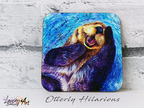 Otterly Hilarious Coaster