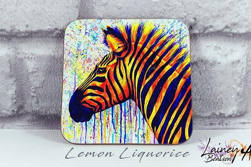 Lemon Liquorice Coaster