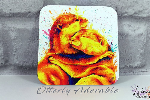 Otterly Adorable Coaster