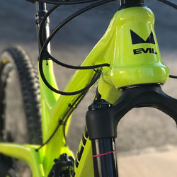 _evilbicycles Insurgent ready for the weekend