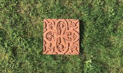 Mexican Tile #1 (Terracotta)(RGB)