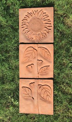 Sunflower 3 piece (Terracotta)(RGB)
