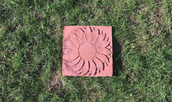 Single Sunflower single (Brick Red)(RGB)