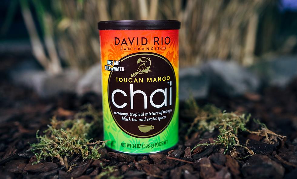 """David Rio Chai """"Toucan Mango Chai"""""""