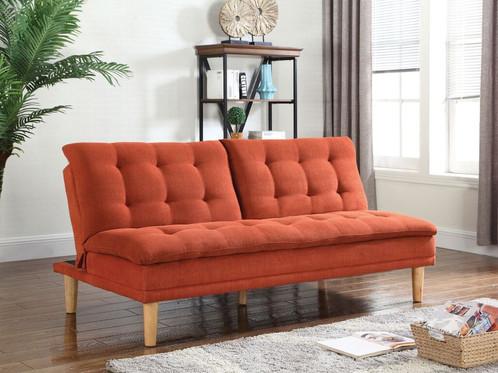 Sofa Bed Orange Orange Sofa Bed For Marvelous Leather