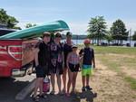 Kayaking at the Wharf