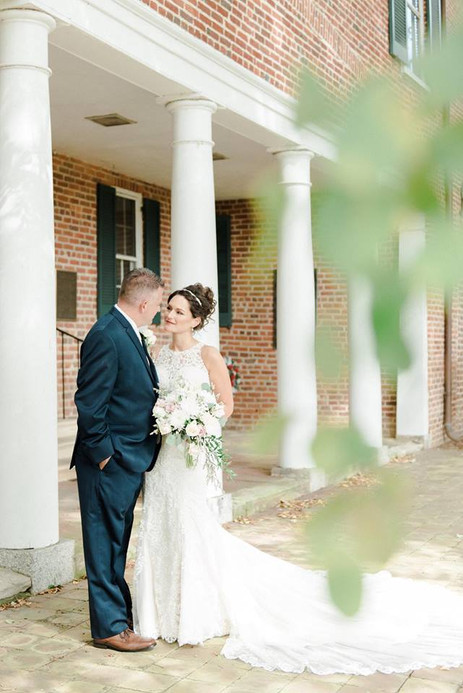 Wedding at Tudor Hall