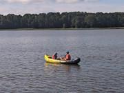Canoeing on Breton Bay