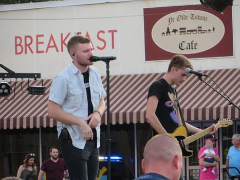 Robbie Boothe Concert in Leonardtown Square