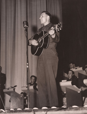 Jerry K Green in the Army 1953