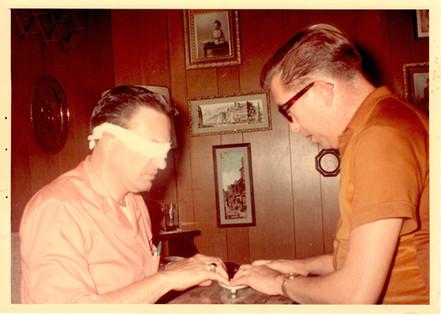 Jerry K. Green and Neal Merritt in 1966