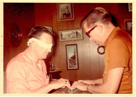 Jerry K. Green and Neal Merritt in 1966