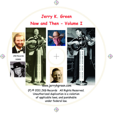 Jerry K. Green On-Disc Artwork