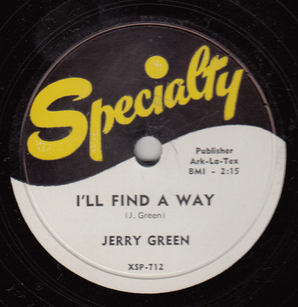 1953 Specialty Records