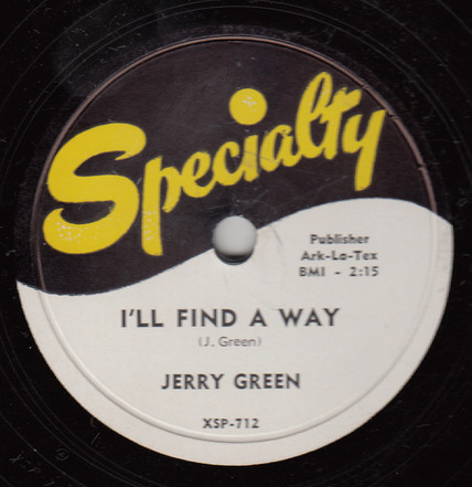 1953 Specialty Records