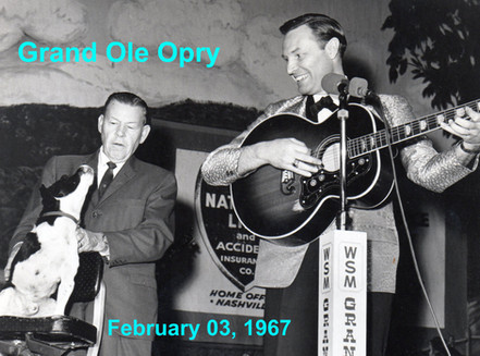 Jerry K. Green, Tripod & Grant Turner on the Grand Ole Opry