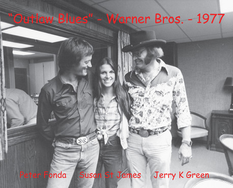 1976 Outlaw Blues Filming