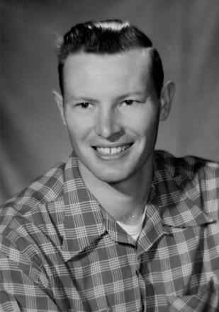 1957 KVET Flyer Photo