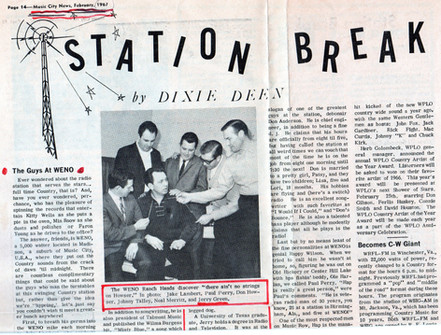 1967 Nashville Feb Music City News