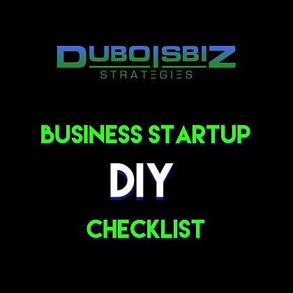 New Business Startup  Set up Checklist