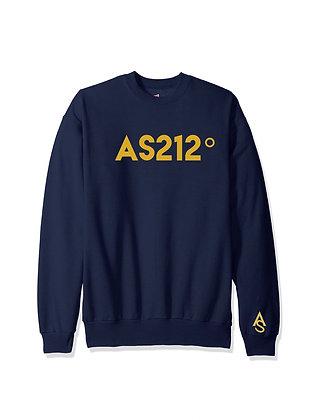 NAVY AS212° Unisex Crew neck Sweater