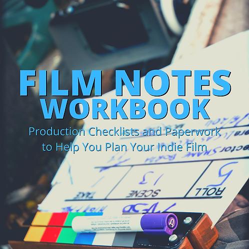 Film Notes Workbook