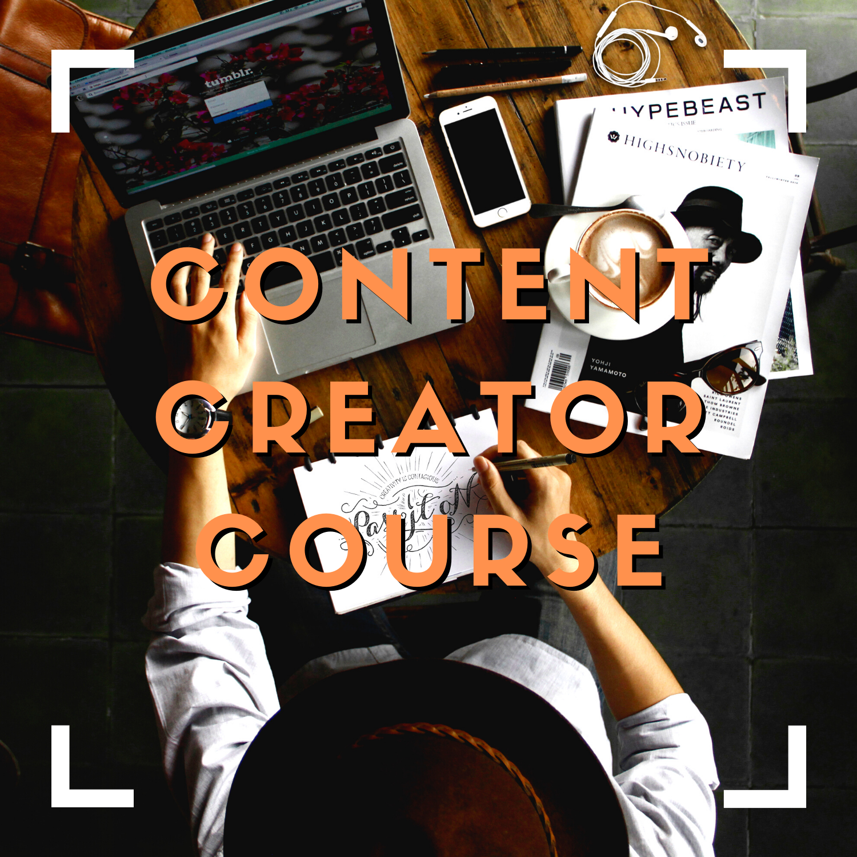 Content Creator Course - LIVE