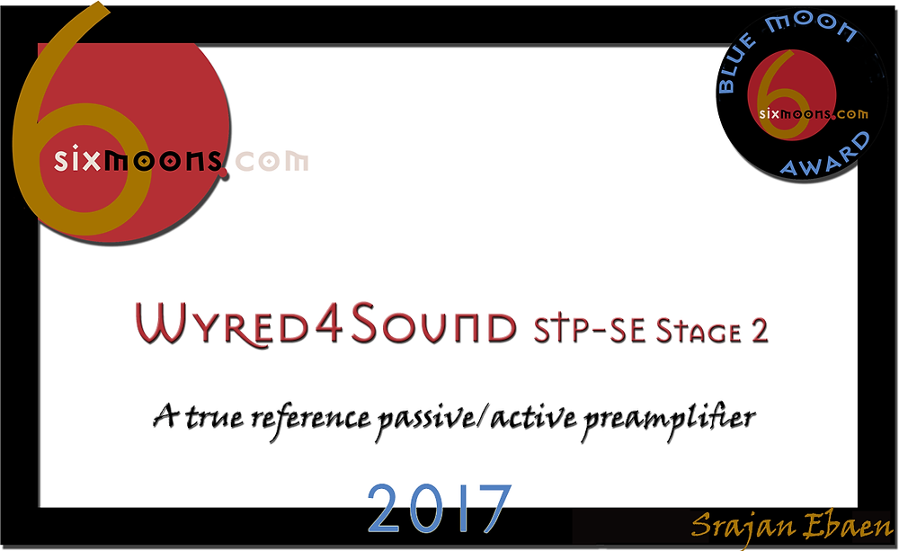 Wyred 4 Sound STP-SE 2 Upgrade Blue Moon Award Elite Audio
