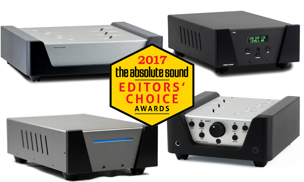 Wyred 4 Sound The Absolute Sound Edtor's Choice 2017 awards